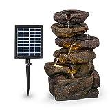blumfeldt Savona Fuente Solar - Energía Solar, 2,8 Vatios, Batería de...