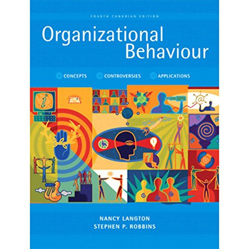 VangoNotes for Organizational Behaviour, Fourth Canadian Edition cover art