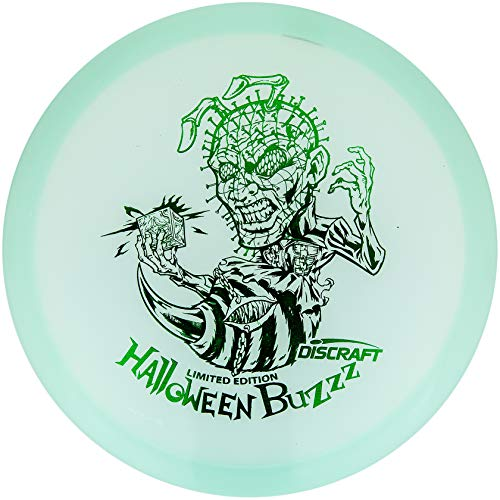 Discraft Limited Edition 2020 Halloween Hellraizzzer Glo-Z Buzzz Midrange Golf Disc [Colors May Vary] - 177-180g