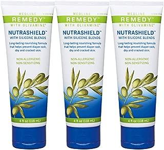 Remedy with Olivamine Nutrashield - 4 Oz Tube Pack of 3