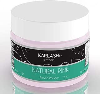 intense pink acrylic powder