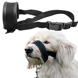 Berry en nylon rembourré Collier de tête de chien Muselière Loop arrête Chien de tirer Outil d'entraînement
