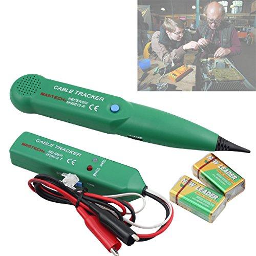 HJ® Netzwerk Kabel Tester Cable Tracker Leitungssuchgerät Kabelsucher Telefonleitungstester Gerät