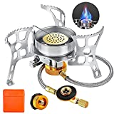 Best Portable Gas Stoves - Camping Gas Stove, Portable Windproof Backpacking Burner Cooking Review