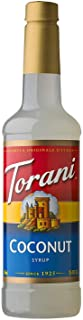 Torani Syrup, Coconut, 25.4 Ounce (Pack of 1)