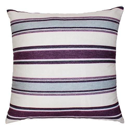 ZXKEE cojines Cover Estilo rústico Púrpura decorativos Sofá funda cojin Plaza 43 x 43cm