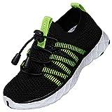 saguaro scarpe estive ragazza scarpe da spiaggia ragazzo scarpe da surf scarpe da sportivi leggero per sport e casual scarpe estive nero gr.31