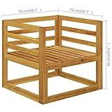 Zoom IMG-1 tidyard sedie da giardino con