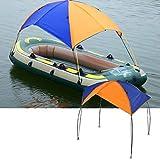 DEWIN Schlauchboot - Angelzelt Schlauchboot Angeln mit D-förmigen Schnallen für das Picknick beim Bootsangeln (4 Personen)