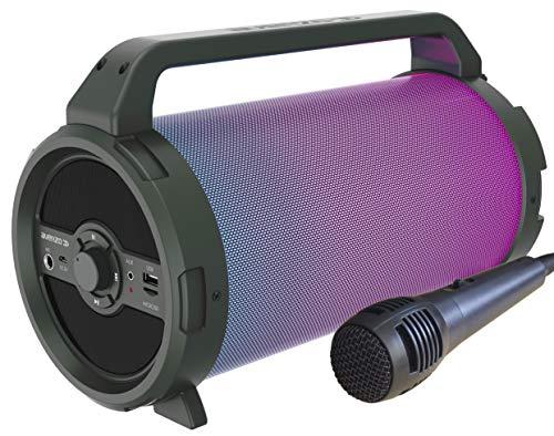 Avenzo AV-SP3301B Altoparlante Bluetooth Bazooka 18 W con Micro
