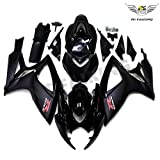 New Glossy Matte Black Fairing Fit for SUZUKI 2006 2007 GSXR 600 750 Injection Mold ABS Plastics Bodywork Bodyframe 06 07