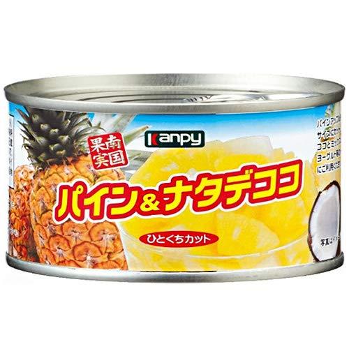 カンピー パイン&ナタデココ 225g缶×24個入×(2ケース)