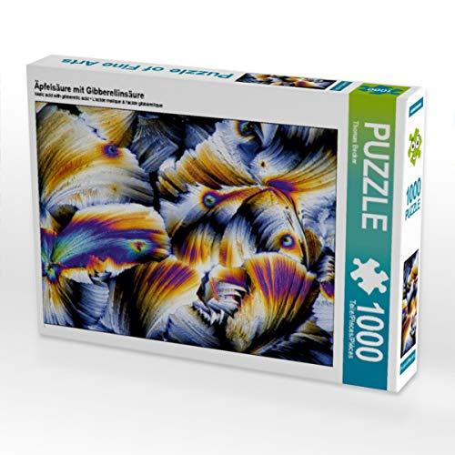 CALVENDO Puzzle Äpfelsäure mit Gibberellinsäure 1000 Teile Lege-Größe 64 x 48 cm Foto-Puzzle Bild von Thomas Becker