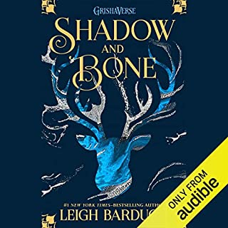 Shadow and Bone audiobook cover art