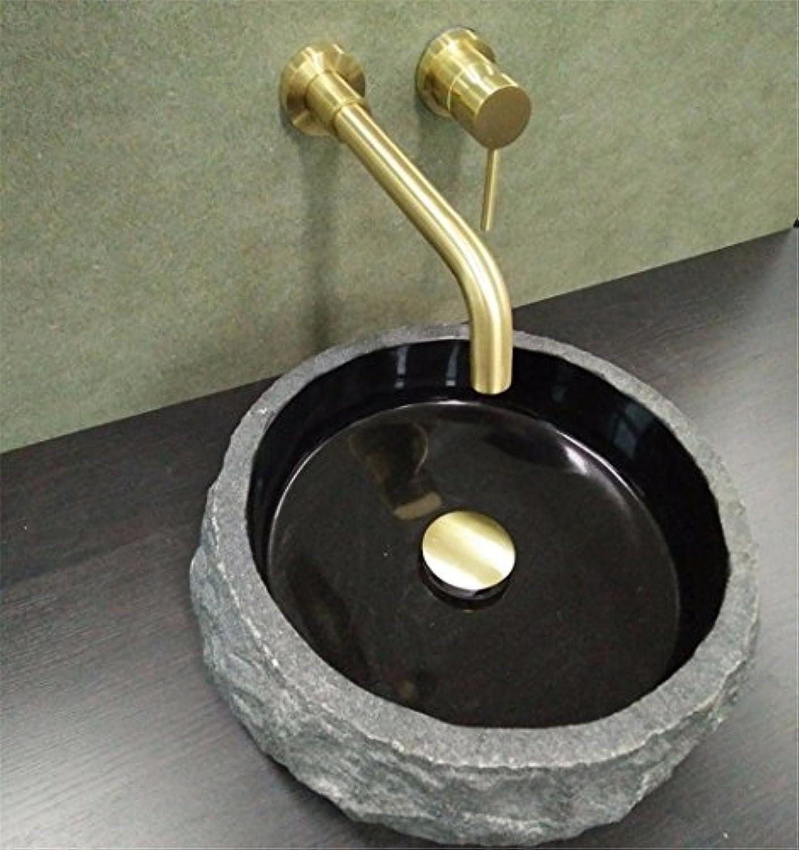 Wasserhhne Warmes und kaltes Wasser groe Qualitt Antiken, dunklen Wand Waschbecken antike Wasser voll Kupfer kaltes Wasser Wand Wasser aus gebürstetem Goldenen Waschbecken Mischbatterie
