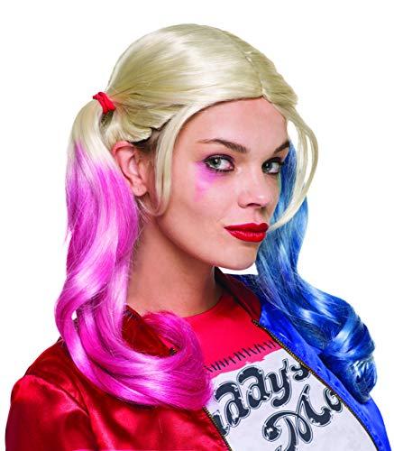 Peruca Suicide Squad Rubies Costume Company Inc Harley Quinn Multicor