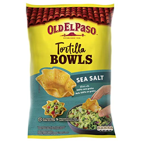 Old El Paso Sea Salt Tortilla Bowls 150g