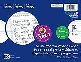 Pacon Multi-Program Handwriting Paper, D'Nealian Grade 1/Zaner-Bloser Grade 2, 1/2' x 1/4' x 1/4' Ruled 10-1/2' x 8', Ruled Long, 500 Sheets