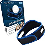 Chin Strap for Snoring - 2 Pack Anti Snoring Chin Strap - Adjustable Jaw Strap and Comfortable Snore Chin Strap - Perfect Snoring Solution