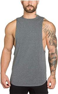 Men's Vest, Fitness, Sports, Training, Leisure, Comfortable Sweat Absorption, Muscular Men's Vest, Various Patterns