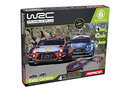 Ninco WRC Rally Corsica Circuito Slot, Color Variado, única (Fábrica De Juguetes 91012)
