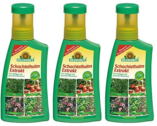 3 x 250 ml Neudorff Schachtelhalm Extrakt Pflanzenhilfsmittel