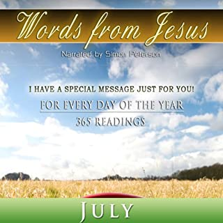 Words from Jesus: July audiobook cover art