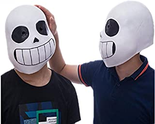 Cosplay Game Legend Undertale Sans Funny Latex Mask Halloween Prom Party Costume Full Face Headgear Prop