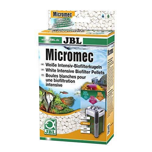 JBL Micromec Sinterglaskugeln für Aquarienfilter zum Abbau von Schadstoffen, 650 g