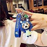 Animal Crossing Son Doll Car Portachiavi Uomo Donna Lovers Portachiavi Ciondolo Piccolo carino Portachiavi Accessori Moda Gioco Switch - 3