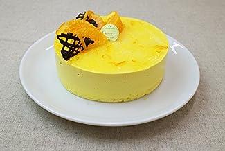 マンゴーケーキ (手作り マンゴームースケーキ 大ホール 直径約15㎝/5~6人分)