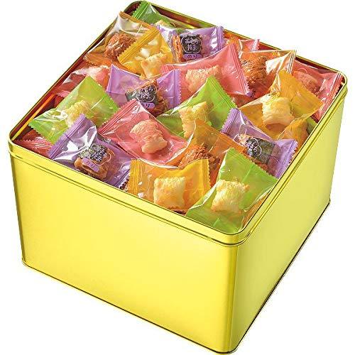 【お歳暮期間限定販売】 亀田 おもちだま ゴールド缶おもちだまG