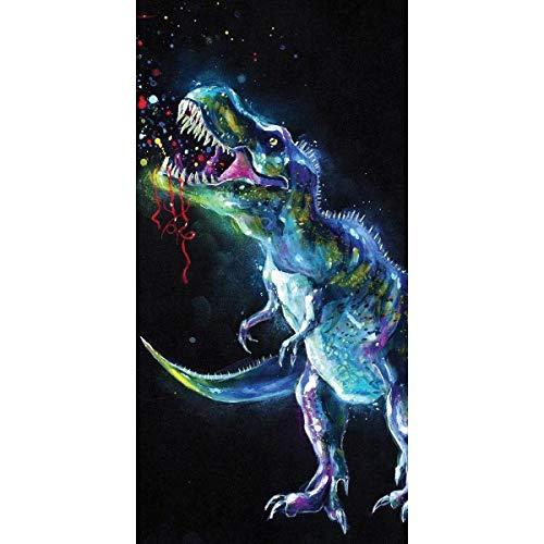 Strandlaken Dinosaurus - 70x140cm