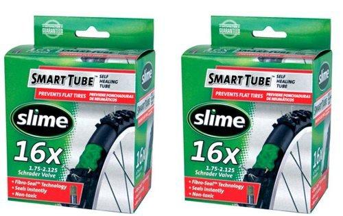Slime Self-Healing 16 x 1.75-2.125 Bicycle Tube (2)