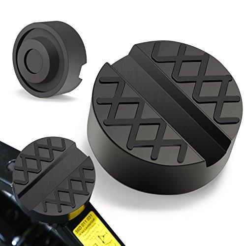 PullPritt Tampone Gomma Universale in Gomma 65x33 mm Auto con scanalatura Evita Graffi Danni Universale Jack Pad (1pcs)