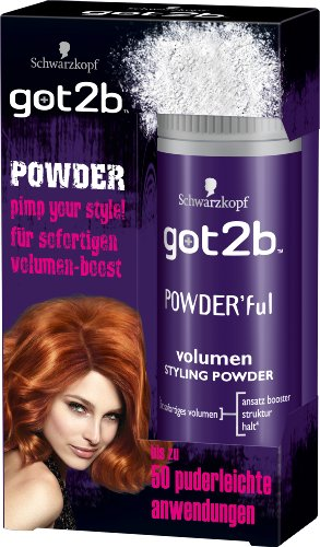 got2b Powder' ful Volumen Styling, 6er Pack (6 x 10g)