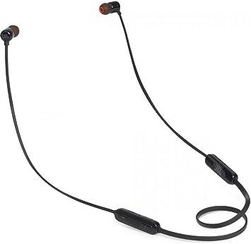 -JBL Tune110BT Draadloze In-Ear Hoofdtelefoon, (Bluetooth, Geïntegreerde Microfoon), 10 x 3.5 x 16 cm, Zwart-aanbieding