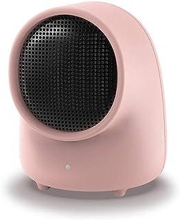 GXDHOME Calefactores Calefactor de Oficina Mini Calefactor de Mesa Hogar pequeño Calefacción de Ahorro de energía eléctrica (Color : Pink)