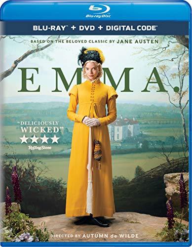 Emma (2020) Blu-ray + DVD + Digital - BD Combo Pack