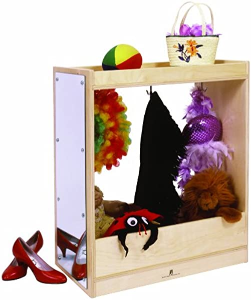 Steffy Wood Products 24 Inch Wide Dress Up Storage 36 Inch