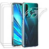 ivoler Case for Oppo Realme 5 Pro, Shock Absorption Bumper