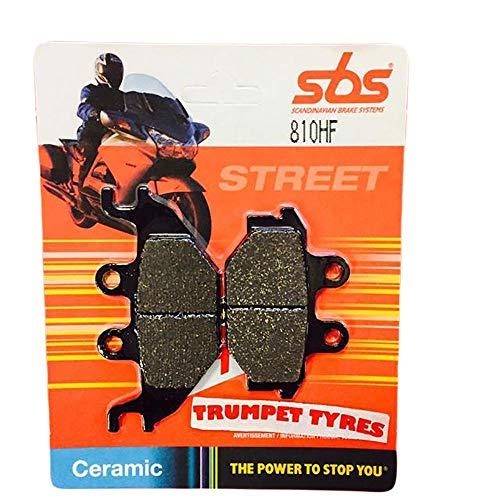 Kymco Urban Quad 250 06 2006 SBS Performance Front Street Standaard Keramische Remblokken Set Echte OE Kwaliteit 810HF