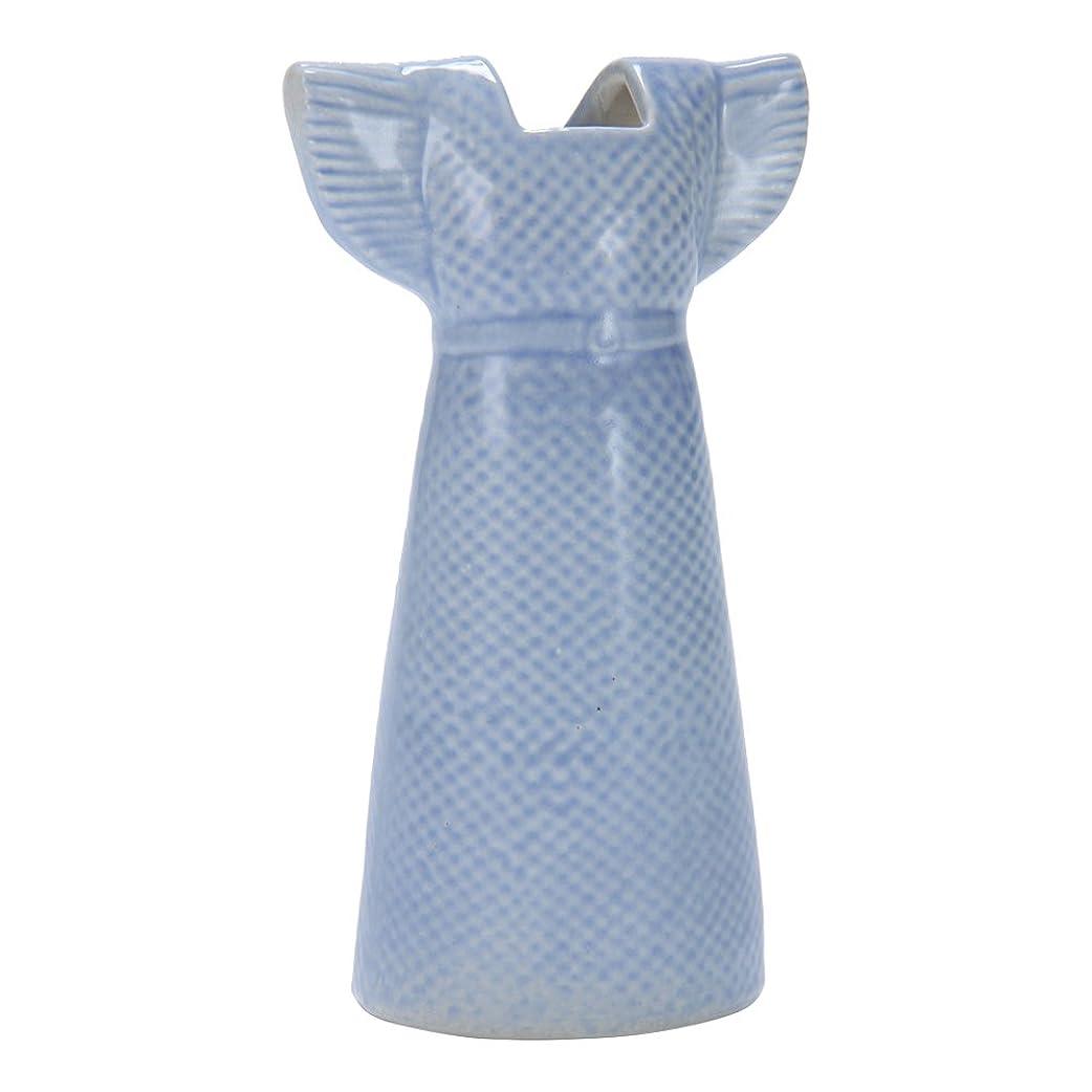 溶けるプラスチック義務付けられたLisa Larson [ リサラーソン ] ワードローブ Clothes/Wardrobe 1560400 ドレス Dress フラワーベース 花卉 花瓶 スカイブルー sky blue 並行輸入品 [並行輸入品]