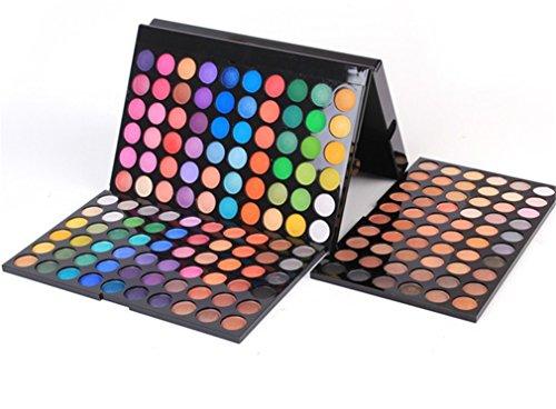 MUUZONING 180 Farben Lidschatten Makeup Palette Set -Schimmer Matt Pigment Lidschatten Palette Beauty Make-up - Satte Farben Kosmetik Eyeshadow Palette Kit - Perfekt für Profi-und tägliche #2