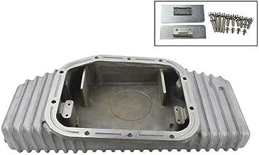 PTNHZ RACING Aluminum Turbo Oil Pan Bolt On Compatible for Nissan 180SX 200SX 240SX Silvia SIL 80 S13 S14 S15 SR20DE SR20DET