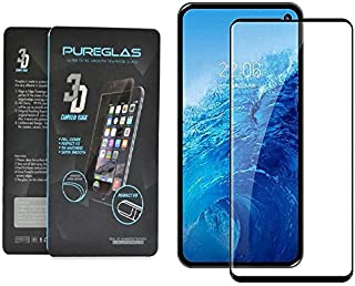 Glass Screen Protector 3D Curved Edge By Pureglas For Samsung S10e, Black Edges