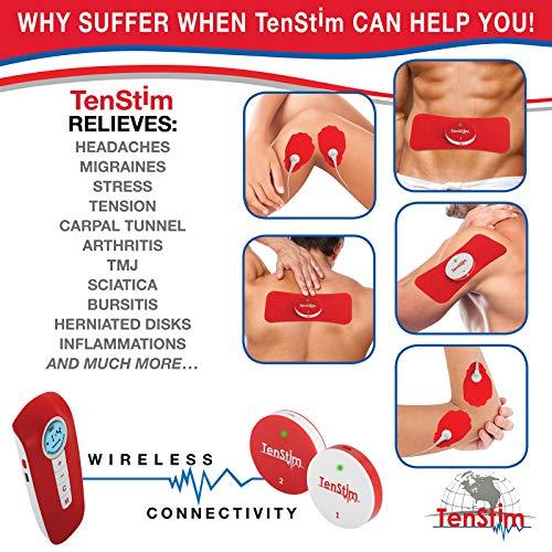 Tenstim Tens Unit Muscle Stimulator