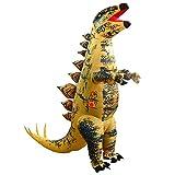 LQG Disfraz Inflable De Dinosaurio Tyrannosaurus Divertido Disfraz Inflable De Cosplay para Halloween, Navidad, Festivales, Fiesta De Cumpleaños