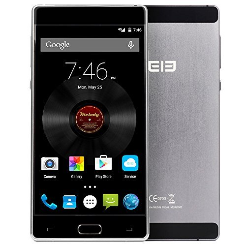elephone M2 - Touch ID SmartphoneOhneVertrag, 4G LTE 5,5 Zoll FHD Android 5.1 OS Octa-Core 64-Bit, 3GB RAM 32GB ROM 5MP 13MP Dual Kameras