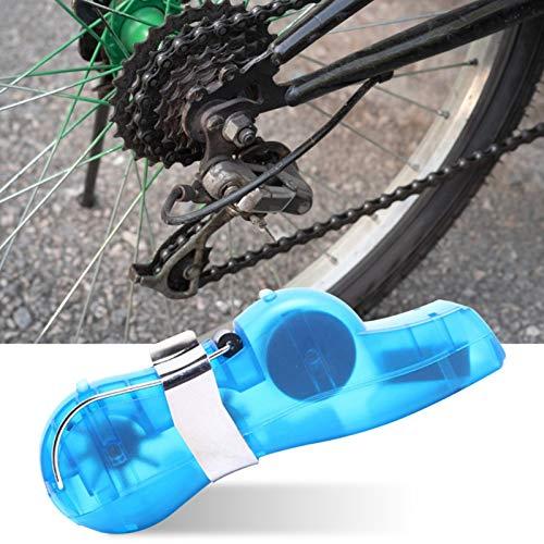 sunflowerany Limpiador De Cadena De Bicicleta, Dispositivo De Limpieza De Cadenas, Cadena De Bici Herramienta De Limpieza Rápido Limpiador para Mantener El Cuidado De La Cadena De Su Bicicleta